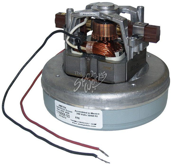 SUNDANCE SPA 1 HP, 240 VOLT, 3.8 AMP AIR BLOWER MOTOR - SUN6500-103