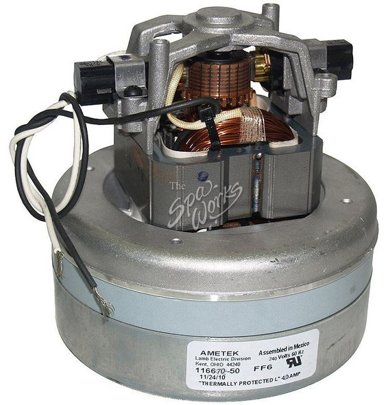 SUNDANCE SPA 1.5 HP, 240 VOLT, 4.0 AMP INGROUND AIR BLOWER MOTOR - SUN6500-116