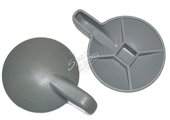 SUNDANCE SPA 1999-2000 AIR VENTURI CONTROL KNOB GREY - SUN6000-178
