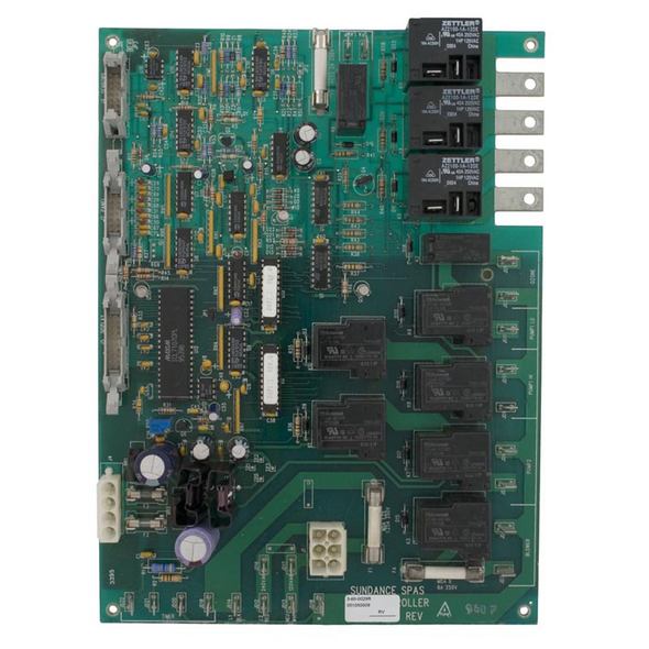SUNDANCE SPA 1995-1997 SYSTEM 600/650 CIRCUIT BOARD, 1-PUMP- SUN6600-055