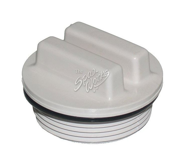SUNDANCE SPA 1 1/2 INCH THREADED DRAIN PLUG WITH ORING - SUN6540-104