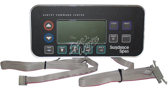 SUNDANCE SPA 1995-1999 850 CONTROL PANEL 2 PUMP WITH DUAL HARNESS - SUN6600-803