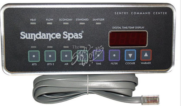 SUNDANCE SPA 1997-1999 750 CONTROL PANEL 2 PUMP WITH BLOWER - SUN6600-708