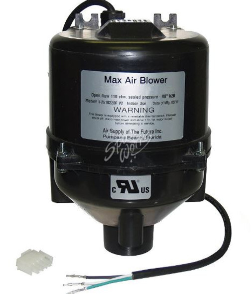 VITA SPA BLOWER, 1 HP, 240V/60HZ, 2.4 AMP WITH AMP PLUG - VIT430109