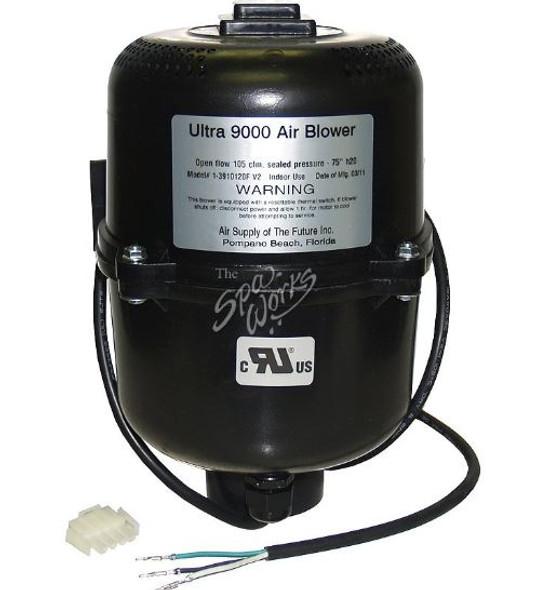 VITA SPA ULTRA 9000 BLOWER, 1 HP, 120 VOLT, 50/60 HZ, 4.5 AMPS WITH AMP PLUG - VIT430205