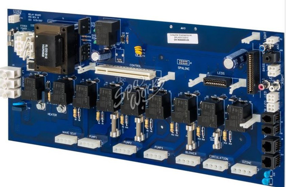 VITA SPA DC700 CIRCUIT BOARD WITH STEREO - VIT454005-DS