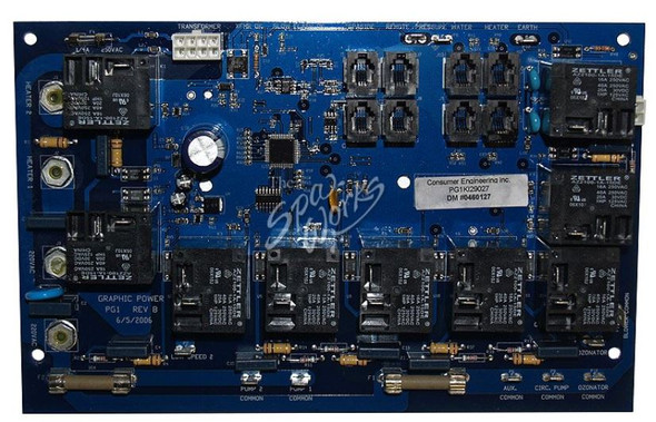 VITA SPA GRAPHIC CIRCUIT BOARD, BLUE BOARD - VIT460127