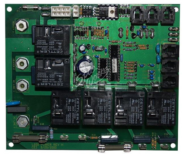 VITA SPA L200/L100 CIRCUIT BOARD, SPA-LINC READY 8 PIN (1999 TO 2002) - VIT460083
