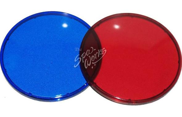 VITA SPA LENS FOR JUMBO LIGHT KIT, BLUE AND RED - VIT442118
