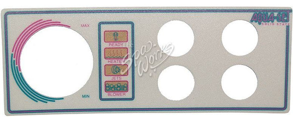 VITA SPA 4 BUTTON DECAL - VIT452127