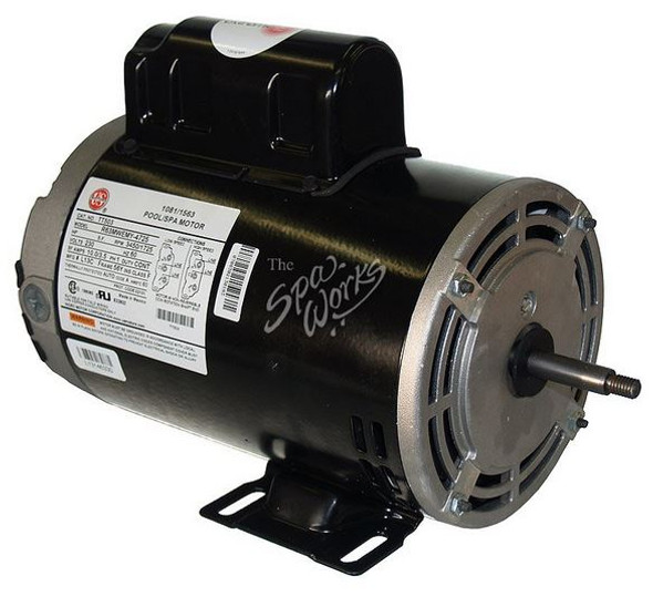 U.S. MOTORS 1.5 HP, 230 VOLT, 2-SPEED, 56 Y-FRAME MOTOR - TT502