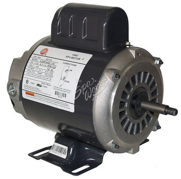 U.S. MOTORS 1/15 HP, 115 VOLT, 1-SPEED, 48 Y-FRAME CIRCULATION MOTOR - EV115