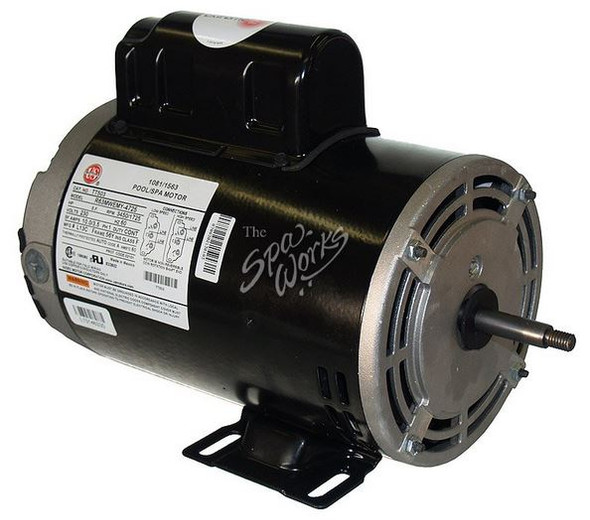 U.S. MOTORS 2.5 HP, 230 VOLT, 2-SPEED, 56 Y-FRAME MOTOR - TT504