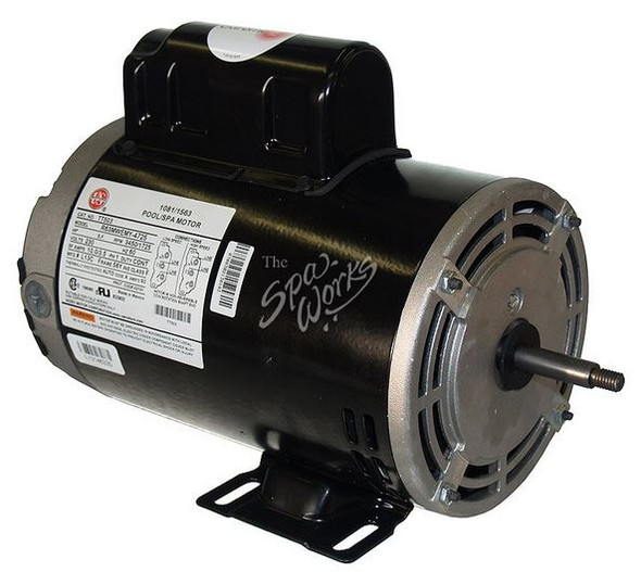 U.S. MOTORS 3 HP, 230 VOLT, 2-SPEED, 56 Y-FRAME MOTOR - TT505