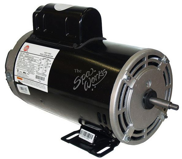 U.S. MOTORS 4 HP, 230 VOLT, 2-SPEED, 56 Y-FRAME MOTOR - TT506