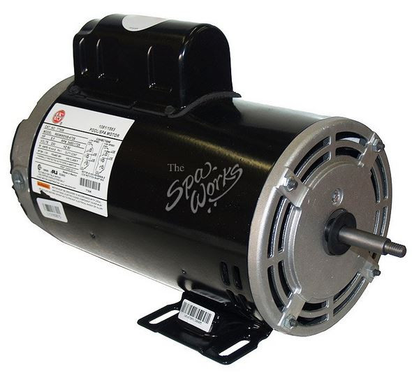 U.S. MOTORS 5 HP, 230 VOLT, 2-SPEED, 56 Y-FRAME MOTOR - TT507