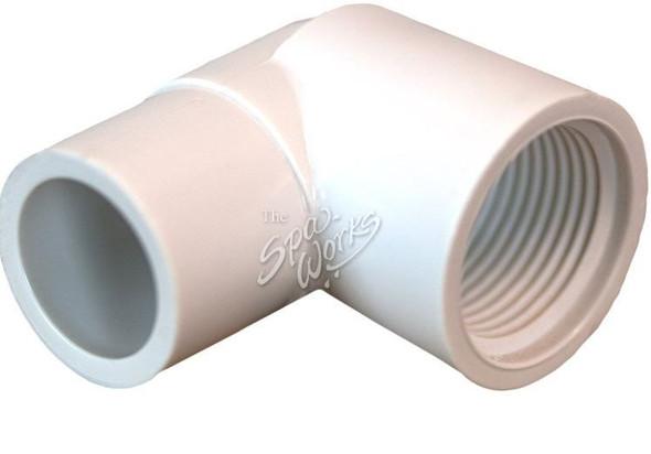 3/4 INCH 90 PVC, SLIP X FIPT - LAS411-007