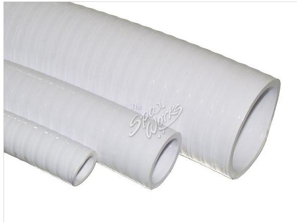 1 1/2 INCH WHITE PVC FLEX PIPE - WWP120-0140
