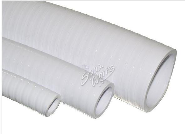 1 INCH WHITE 1 INCH WHITE PVC FLEX PIPE - WWP120-0130
