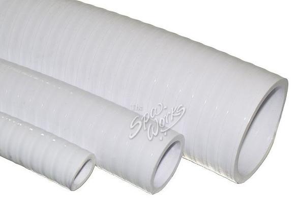 3/4 INCH WHITE PVC FLEX PIPE - WWP120-0120