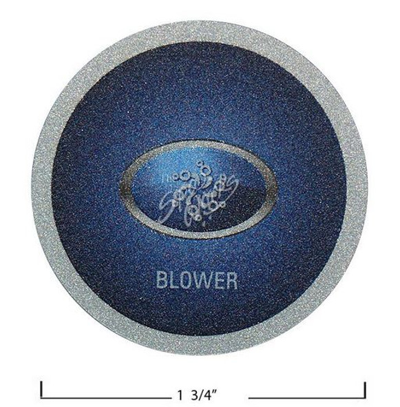1 BUTTON BLOWER OVERLAY DECAL, BALBOA - BAL40107