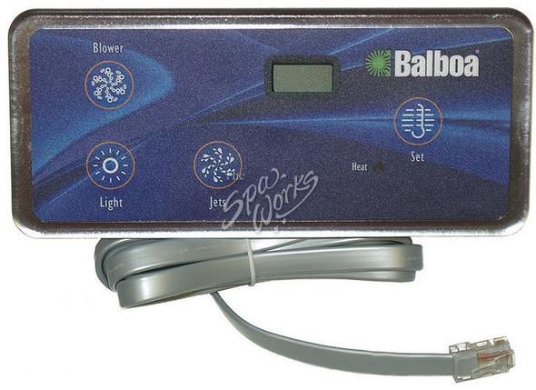 BALBOA DUPLEX DIGITAL LCD SPA SIDE CONTROL - BAL54093