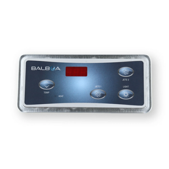 BALBOA DUPLEX DIGITAL SPA SIDE PANEL (2 PUMPS NO BLOWER) - BAL51248