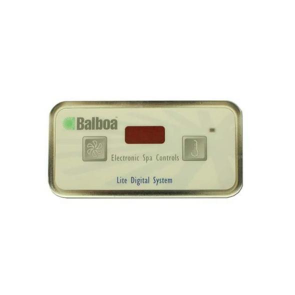 BALBOA E2 LT DIGITAL 8 PIN TOPSIDE CONTROL PANEL - BAL51538