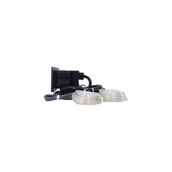 2 BUTTON 120 VOLT AQUASET SPA SIDE CONTROL WITH 10 FOOT CORD - LEG930630-516