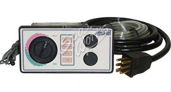 2 BUTTON 240 VOLT AQUASET SPA SIDE CONTROL WITH 6 FOOT CORD - LEG930726-516