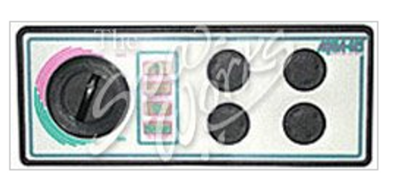 4 BUTTON 240 VOLT 6 FOOT CORD AQUASET SPA SIDE CONTROL - LEG930846-516