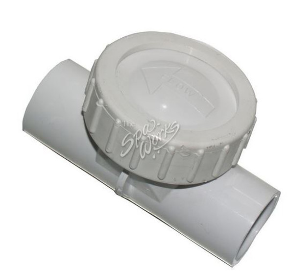 1 INCH FLAPPER WATER CHECK VALVE - WWP600-4000