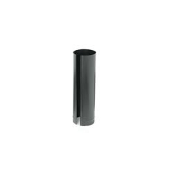 "Snap-Lock 24-ga Black Stovepipe 5"" x 24"" - 73525"
