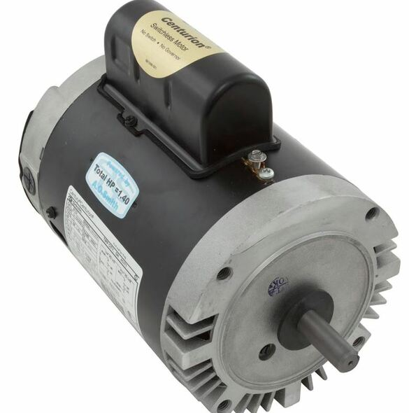 A.O. Smith - Magnetek - Century Keyed Shaft 56C Frame Motors - B122