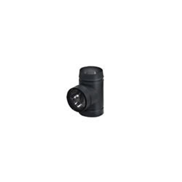 """Model DSP Double-Wall Stovepipe Tee With Cover 6"""" - 77335"""