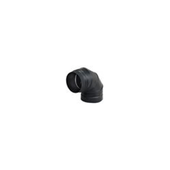 """Model DSP Double-Wall Stovepipe 90 Deg Elbow 6"""" - 77350"""