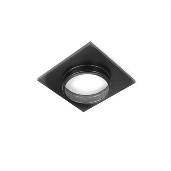 """DirectVent Pro Ceiling Suppot/wall 4"""" x 6"""" T Himble Cover Round - 69440"""