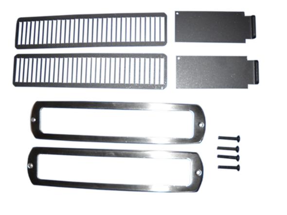 Air Slides Kit - Nickel (w/2 frames & screws) - NTK-SLIDE