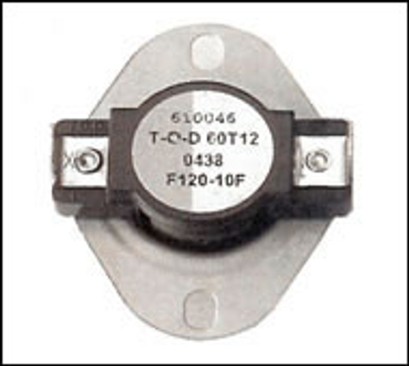 Low Limit Snap Switch 120 Degree
