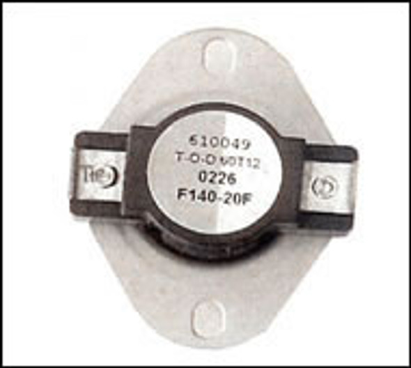 Low Limit Snap Switch 140 Degree