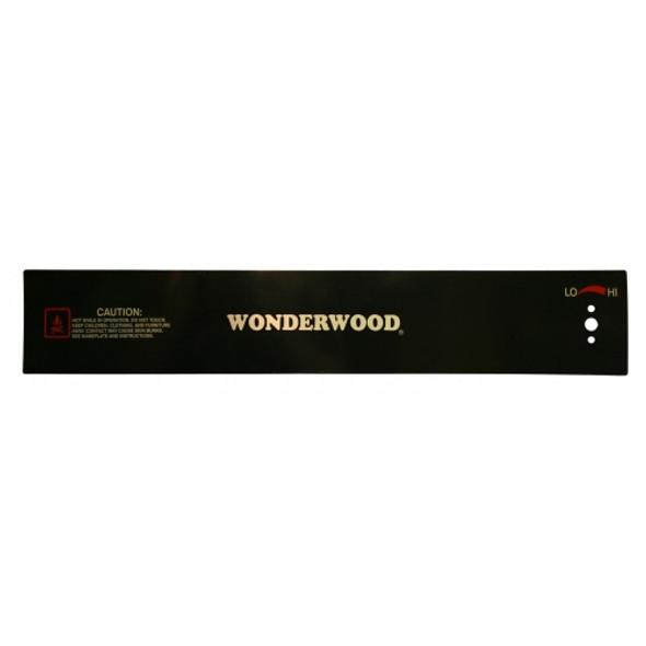Control Panel Plate 85381BW