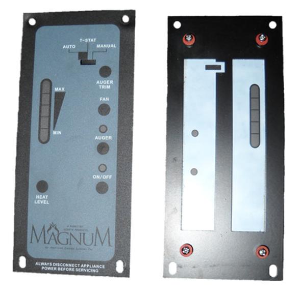 Control Board Faceplate Replacement (AC & DC Digital) - RP2120