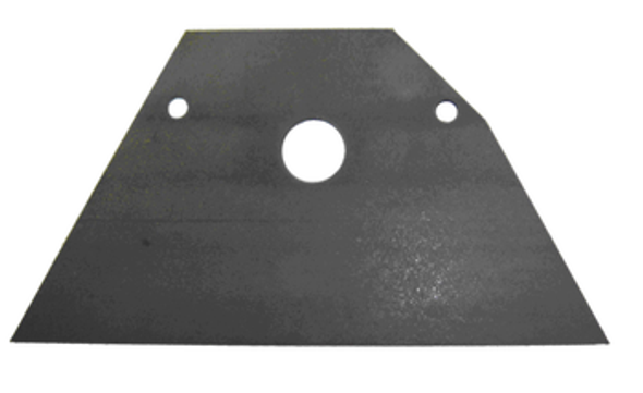 Auger Housing Back Plate - P5028