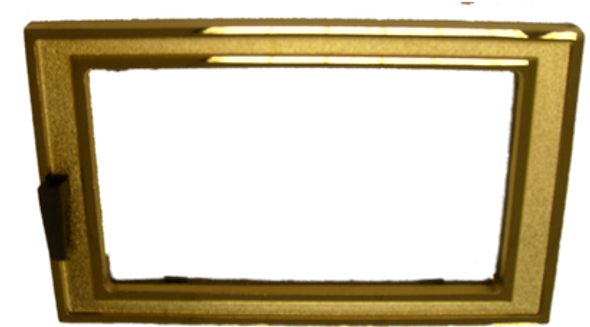 Ash Pan Door, 24 Karat Gold Complete Assembly - CF3515