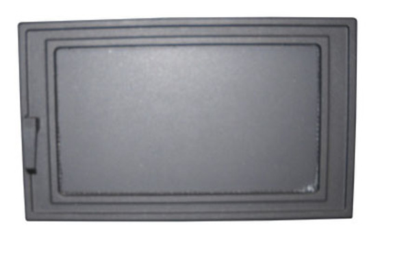 Door, Black with steel (Complete Assembly) (6500 ash pan door only) - MF3522-B