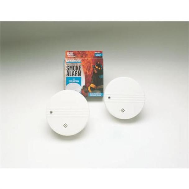 Lifesaver Smoke Alarm, 9v Battery Included - 62000