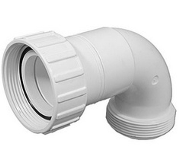 PVC 90° Heater to Pump Sweep Fitting - 0669-20