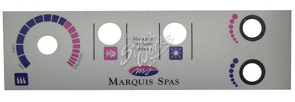 MARQUIS 1 AND 2 TOPSIDE PANEL OVERLAY -MRQ650-0013