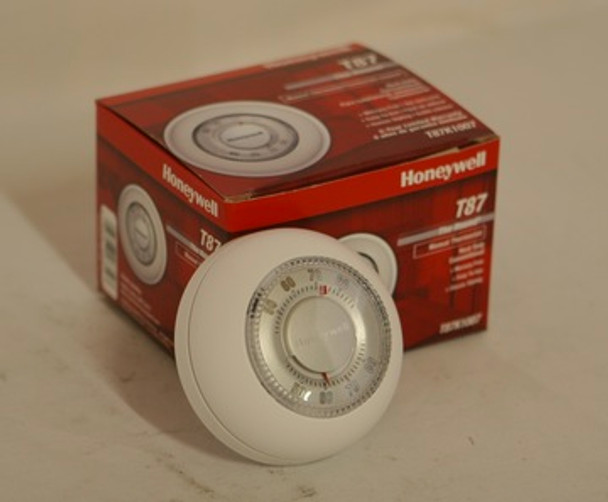 Thermo Control Round Wall Thermostat