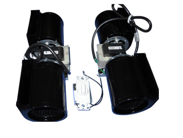 Fan Kit, 2 Blowers (Includes Junction Box & Variable Speed Switch) - ZC-45-2